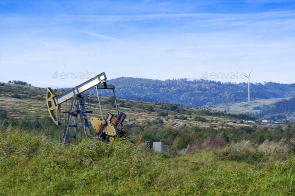 oil pump - Stock Photo - Images
