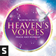 Heaven's Voices CD Album Artwork - GraphicRiver Item for Sale