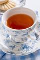 English Tea in Floral Pattern Porcelain - PhotoDune Item for Sale