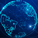 Digital World Connection Logo Reveal 4K - VideoHive Item for Sale