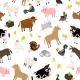 Farm Animals Pattern - GraphicRiver Item for Sale
