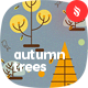 Autumn Trees Seamless Patterns - GraphicRiver Item for Sale