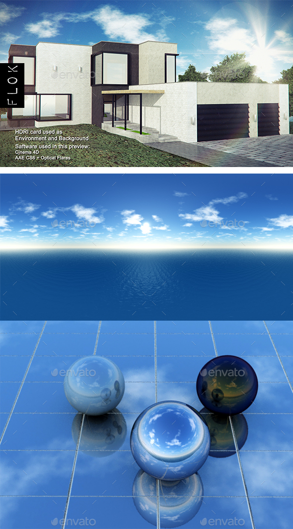 Daylight Sea 8 - 3DOcean Item for Sale