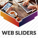 Web Sliders - GraphicRiver Item for Sale