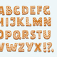 Alphabet Ginger Cookie Isolated on White - GraphicRiver Item for Sale
