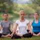 women meditating and doing yoga exercise - PhotoDune Item for Sale