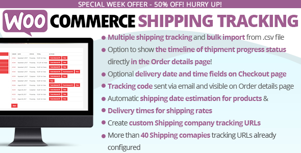 WooCommerce Shipping Tracking - CodeCanyon Item for Sale