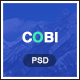Cobi - Creative Portfolio PSD Template - ThemeForest Item for Sale