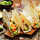 Shrimp tacos with avocado salsa - PhotoDune Item for Sale
