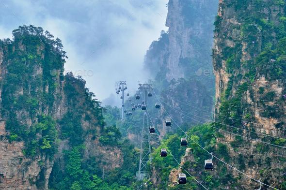 Zhangjiajie mountains, China - Stock Photo - Images