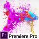 Colorful Splash Logo - Premiere Pro - VideoHive Item for Sale