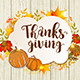 Vintage Greeting Card for Thanksgiving Day - GraphicRiver Item for Sale