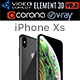 Apple iPhone XS Space Gray - 3DOcean Item for Sale