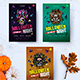 Halloween Heroes Flyer - GraphicRiver Item for Sale