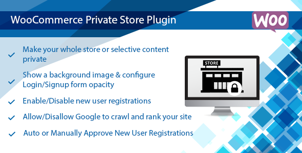 WooCommerce Private Store Plugin | Shop for Registered User Only - CodeCanyon Item for Sale
