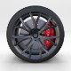 Full Tesla Roadster Wheel