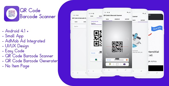 QR Code And Barcode Scanner            Nulled
