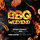 BBQ Weekend Flyer - GraphicRiver Item for Sale