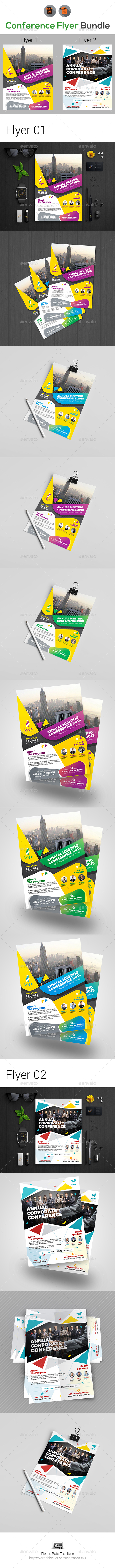 Conference Flyers Bundle - Events Flyers
