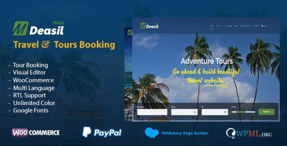 Deasil - Travel and Tour Booking Theme - Travel Retail