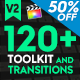 FCPX 120+ Toolkit and Transitions - VideoHive Item for Sale