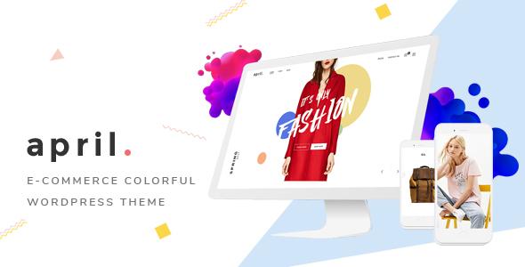 APRIL - Wonderful Fashion WooCommerce WordPress Theme - WooCommerce eCommerce