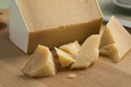 Pieces of mature white organic goat cheese - PhotoDune Item for Sale