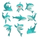 Friendly Sharks Set - GraphicRiver Item for Sale