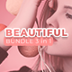 Beautiful Bundle 3 in 1 Keynote - GraphicRiver Item for Sale