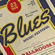 Blues Music Flyer - GraphicRiver Item for Sale
