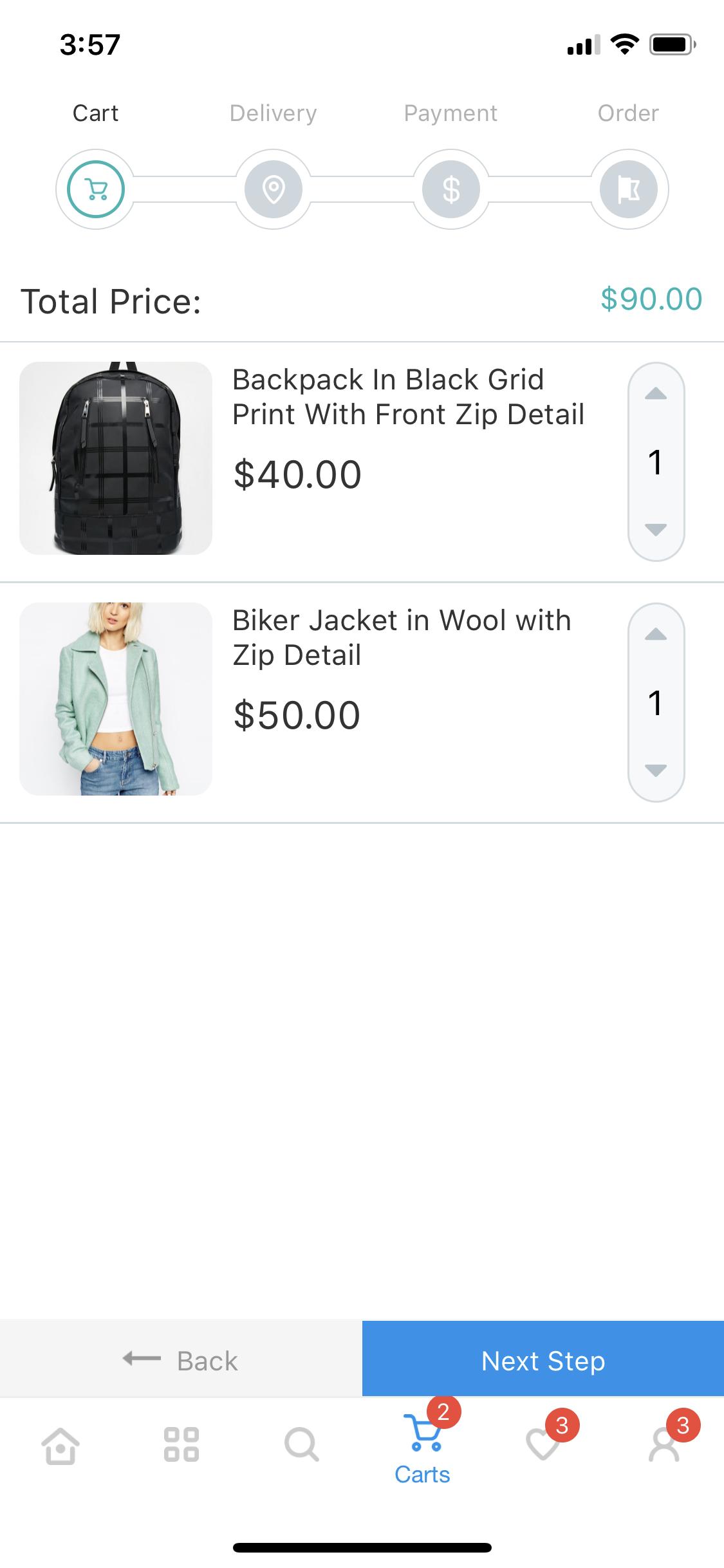 CeStore - ReactJS web app & React Native mobile app for e-commerce