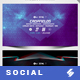 Electronic Music Party 01 - Facebook Event Cover Templates - GraphicRiver Item for Sale