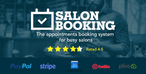 Salon Booking Wordpress Plugin - CodeCanyon Item for Sale