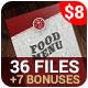 Food Menu + 7 Bonuses - GraphicRiver Item for Sale