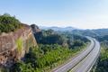 danxia landform and highway - PhotoDune Item for Sale