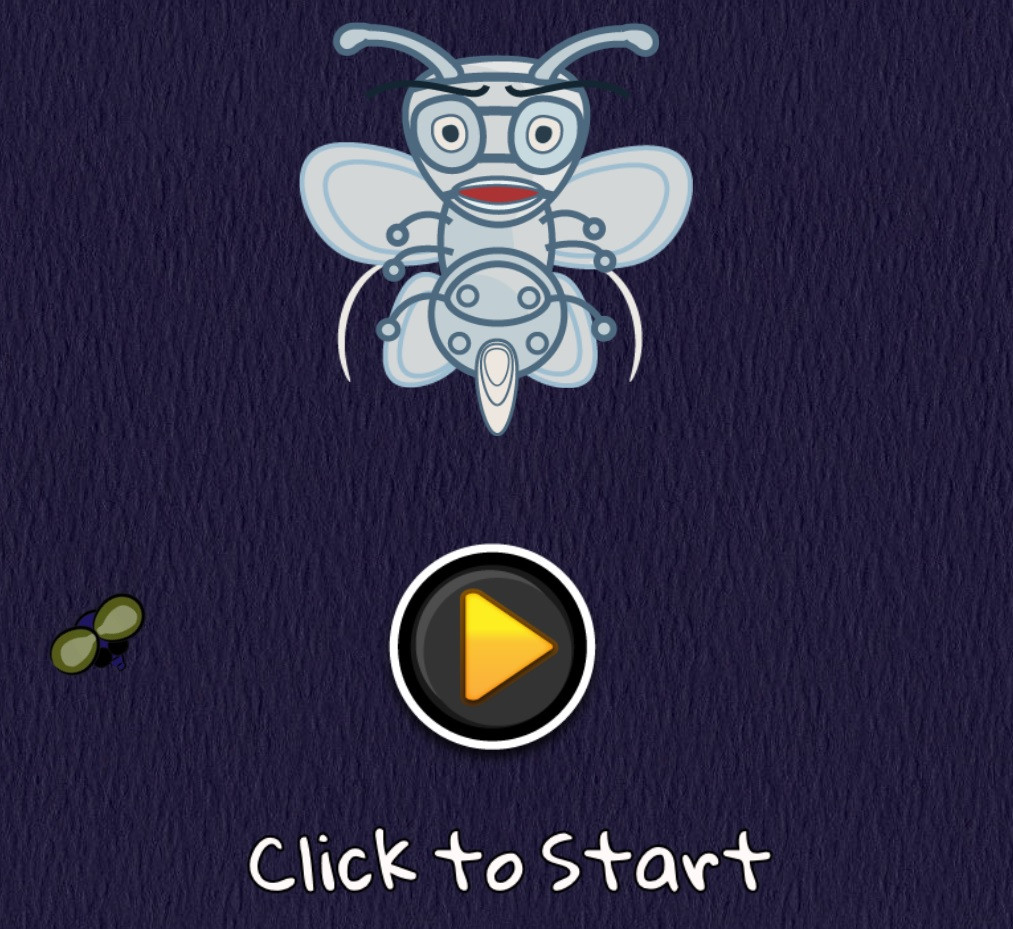 Fly Catcher - HTML5 Action Reflexes Game