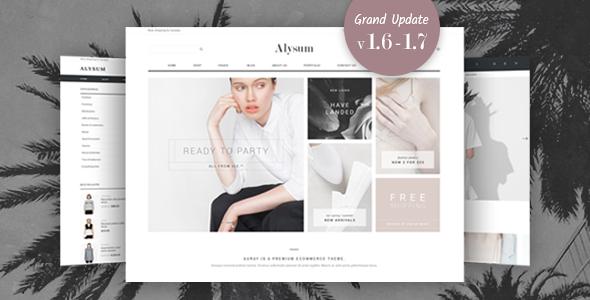 Alysum - Premium Prestashop 1.7 & 1.6 Theme - Shopping PrestaShop