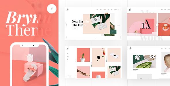 Brynn - Creative Portfolio Theme Free Download | Nulled