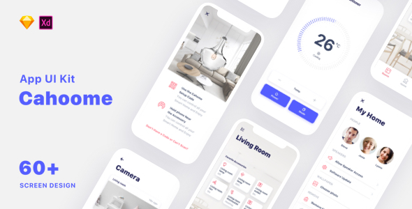 Cahoome - Smart Home UI Kit