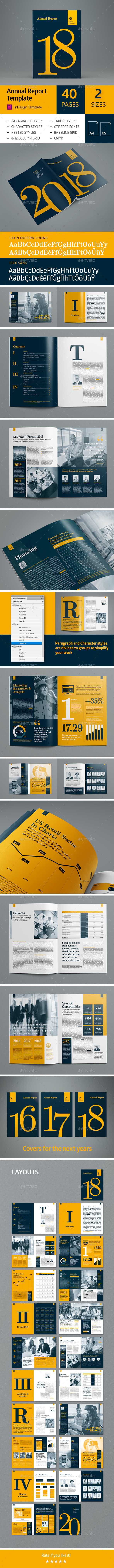 Annual Report 40 pages - Corporate Brochures