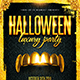 Halloween Night Party Flyer vol.7 - GraphicRiver Item for Sale