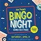 Bingo Night Event Flyer - GraphicRiver Item for Sale