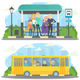 Bus Station - GraphicRiver Item for Sale