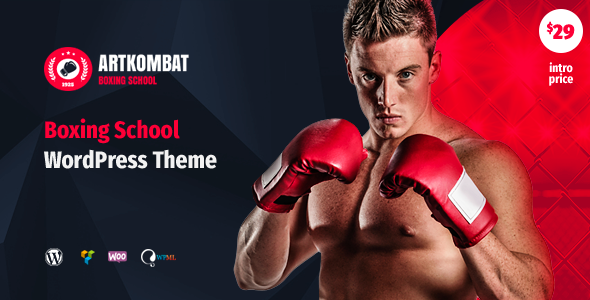 Art Kombat - Boxing School WordPress Theme