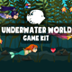 Underwater World 2D Game Kit - GraphicRiver Item for Sale