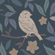 Birds & Blooms Seamless Patterns - GraphicRiver Item for Sale