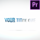Clean Rotation Title - VideoHive Item for Sale