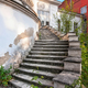 Old stone mansion staircase - PhotoDune Item for Sale