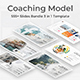 Coaching Model Pitch Deck 3 in 1 Bundle Keynote Template - GraphicRiver Item for Sale