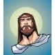 Jesus Portrait Icon - GraphicRiver Item for Sale